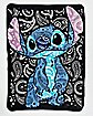 Paisley Stitch Fleece Blanket - Lilo & Stitch