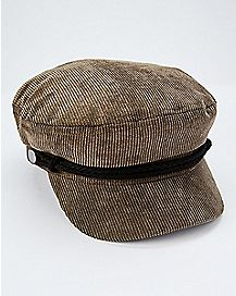 Corduroy Captain Hat