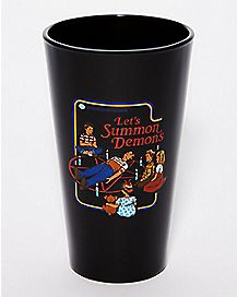 Let's Summon Demons Pint Glass 16 oz. - Steven Rhodes
