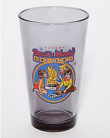 Devil's Music Sing-Along Pint Glass 16 oz. - Steven Rhodes