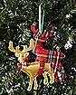Plush Humping Reindeer Ornament