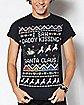 I Saw Daddy Kissing Santa Claus T Shirt