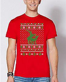 Humping Reindeer T Shirt