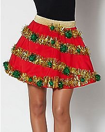 Light-Up Christmas Skirt