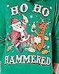Ho Ho Hammered Ugly Christmas Sweatshirt