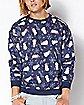 Snowmen Get Lit Ugly Christmas Sweatshirt