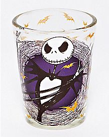 Bat Jack Skellington Mini Glass 1.5 oz. - The Nightmare Before Christmas