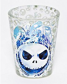 Face Jack Skellington Mini Glass 1.5 oz. - The Nightmare Before Christmas
