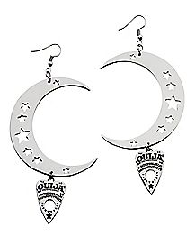 Moon Ouija Dangle Earrings - Hasbro