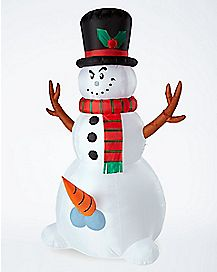 Light Up Snowballs Deep Inflatable - Decorations