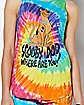 Tie Dye Scooby Doo Tank Top and Shorts
