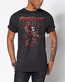 Carnage T Shirt - Marvel