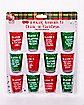 12 Reasons to Drink Shot Glasses 12 Pack - 2 oz.