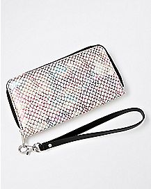 Rainbow Scales Zip Wallet