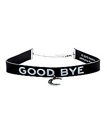 Goodbye Ouija Choker Necklace - Hasbro