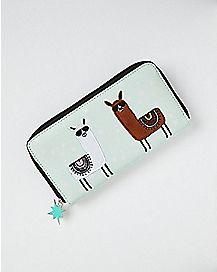 Llama Zip Wallet
