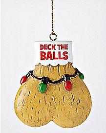 Deck The Balls Christmas Ornament