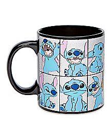 Glitter Stitch Coffee Mug 20 oz. - Lilo and Stitch