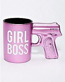 Gun Girl Boss Coffee Mug - 20 oz.