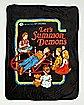 Let's Summon Demons Fleece Blanket - Steven Rhodes
