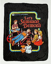 Let's Summon Demons Fleece Blanket - Steven Rhodes
