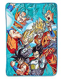 Super Saiyan Fleece Blanket - Dragon Ball Super