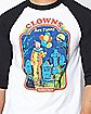 Raglan Clowns Are Funny T Shirt