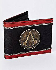 Black and Red Assassin's Creed Bifold Wallet