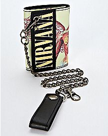 In Utero Nirvana Chain Wallet