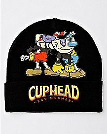 Cuphead and Mugman Beanie Hat