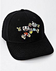 Cuphead Dad Hat