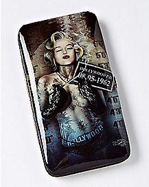 Mugshot Marilyn Monroe Hinge Wallet