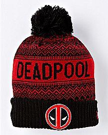 Deadpool Pom Beanie Hat - Marvel