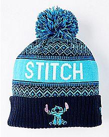 Pom Stitch Beanie Hat - Disney
