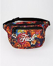 Floral Fuck Fanny Pack