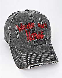 Black A Nightmare On Elm Street Dad Hat