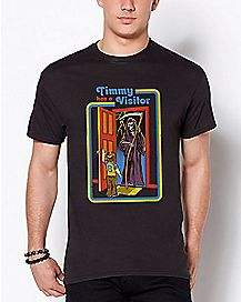 Timmy's Visitor T Shirt - Steven Rhodes