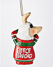 Fleece Navidad Christmas Ornament