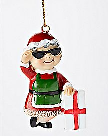 Mrs. Claus Christmas Ornament
