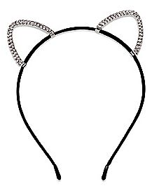 CZ Cat Ear Headband
