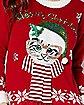 PF MEOWY CHRISTMAS SWEATER MD