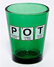 Pot Shot Glass - 1.5 oz.