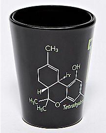 THC Shot Glass - 1.5 oz.