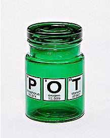Pot Storage Jar and Ashtray Set