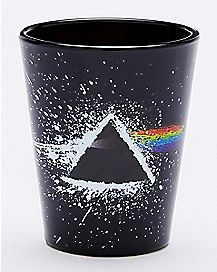 Paint Splatter Pink Floyd Shot Glass - 1.5 oz.