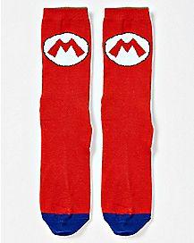 Mario and Luigi Reversible Crew Socks - Super Mario Bros.