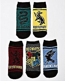 Houses Harry Potter Socks - 5 Pair