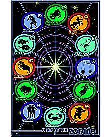 Blacklight Zodiac Poster