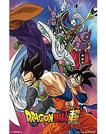 Super Group Dragon Ball Z Poster