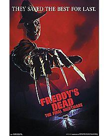 Freddy's Dead Poster - Nightmare On Elm Street